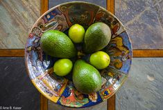 Stilllife with Avogado and Lime
