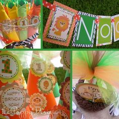 Jungle birthday theme ideas