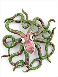 Charming Octopus Pin