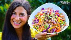 Healthy and Wonderful Salad Recipes that Will Make a Difference to Your Recipes - PinHell Raw Vegan Recipes, Vegan Foods, Vegan Dishes, Healthy Recipes, Salad Recipes, Whole Food Diet, Raw Food Diet, Whole Food Recipes, Cooking Recipes