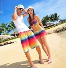79621a0de5 New Fashion Men Women Lovers Couple Various Beach Surf Board Swim Shorts  22style