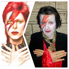 David Bowie Fotografia Divertimento Somiglianze Attori Attrici Cantanti Gruppi Facebook Sosia  Spettacolo Musica Pin Cartoni Film Gioco Televisione Amici