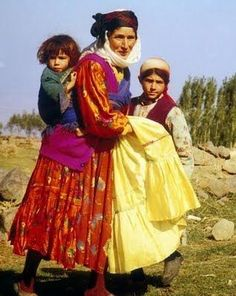 Turkish Kurdistan - middle of the 20th century, I believe.