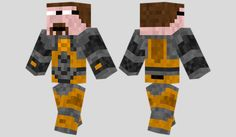 Gordon Freeman Skin para Minecraft