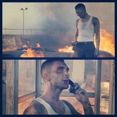 Adam Levine is on fire in Maroon 5's new video Payphone!