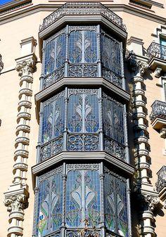 Barcelona - València ~ Casa Jaume Forn ~ Architect: Jeroni Granell i Manresa