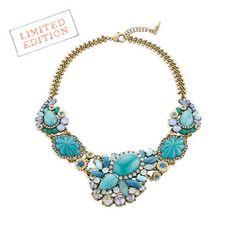 Seascape Statement Collar Necklace http://chloeandisabel.com/boutique/jamielove #chloeandisabel