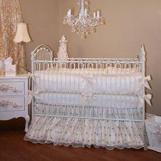 #vintage elegant crib