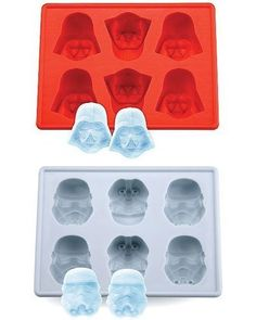 Purchased: Jollylife Star Wars Darth Vader & Storm Trooper Silicon Ice Cube Tray Set of 2