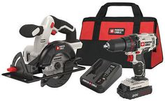 Porter-Cable 20V MAX Cordless Lithium-Ion 1/2 In. Drill & 5-1/2 In. Circular Saw Combo Kit