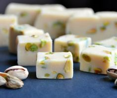 Bailey's Irish Cream and Pistachio Fudge