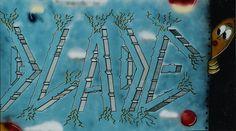Blade (Steven Ogburn) - Graffiti Anew, 1988, spray paint on canvas