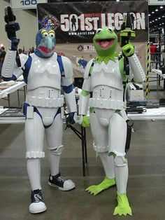 [Cosplay] Muppet Show + Star Wars = Muppet Troopers