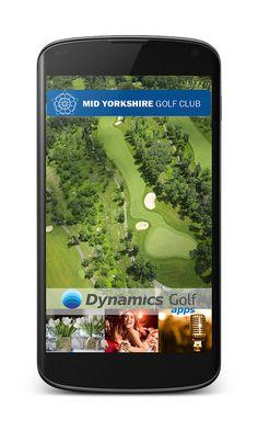Mid Yorkshire Golf Club app