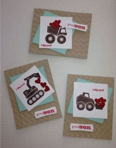 I Dig You Valentines - great for little boys