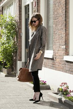 Topshop Duster Coat, Mulberry Bayswater Bag - Duster coat - Christine R.