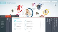 UI,UX,NUI design for Kinect, Ipad Clients on Behance