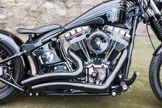 Harley Davidson Softail By Nine Hills Motorcycles