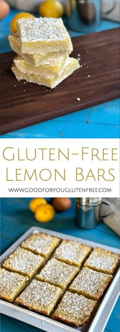Gluten-Free Lemon Bars - Good For You Gluten Free (1)