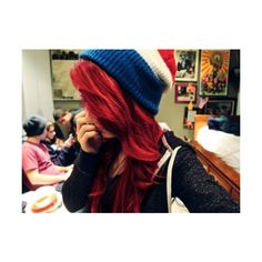 Hot girls with Red Hair. ❤ liked on Polyvore featuring hair, girls, pictures, people y red hair