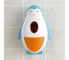 I think I need this Penguin Soap Dispenser... yes, for me... not for my son.......
