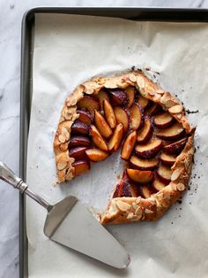This Almond Crusted Plum Galette Is To Die For [Video Recipe]