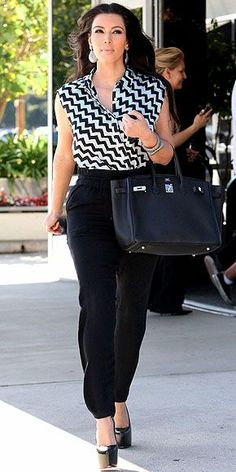 Kim Kardashian Fashion and Style - Kim Kardashian Dress, Clothes, Hairstyle - Page 49
