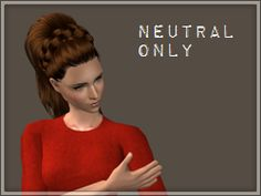 sims2defaults | hairhatwitch Supernatural Witch, Neutral