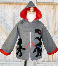 Boys sewing pattern PDF boys jacket coat by MyChildhoodTreasures