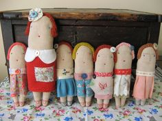adorable doll family by cathycullis