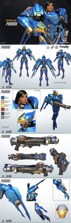Overwatch - Pharah Reference Guide: