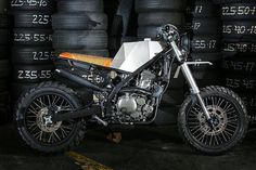 KLX 650 Origami by Benta Handmade Machines