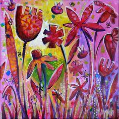 """The Sunshine Peeks Through"" by Anna Bartlett - SOLD"
