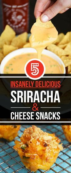 5 Kick-Ass Sriracha And Cheese Snacks For Your Super Bowl Party