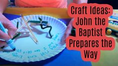 Craft Ideas: John the Baptist Prepares the Way Treasure Maps, Sunday School Crafts, John The Baptist, Faith, Craft Ideas, Loyalty, Believe, Diy Ideas, Religion