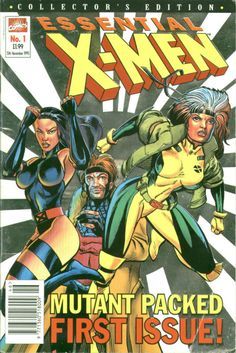 Essential X-Men No 1 November 1995 Marvel UK 76 pages Very Good