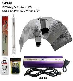 Special Offers - SPL Horticulture Stdewk 1000 Hydroponic 1000w Watt Grow Light Digital Dimmable HPS System for Plants Double Ended Wing Reflector Hood Set For Sale - In stock & Free Shipping. You can save more money! Check It (February 24 2017 at 03:46AM) >> https://growinglightfixtures.com/spl-horticulture-stdewk-1000-hydroponic-1000w-watt-grow-light-digital-dimmable-hps-system-for-plants-double-ended-wing-reflector-hood-set-for-sale/
