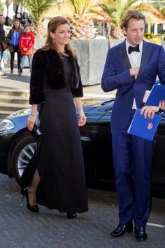 Dutch Prince Floris and Princess Aimee attend the 2015 Night of the Stars Gala at the Kurhaus in Scheveningen, The Netherlands