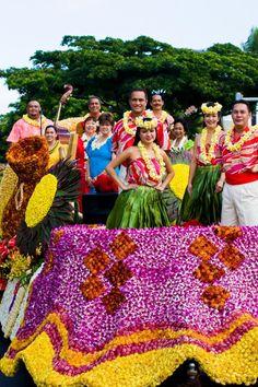 Aloha Festivals Parade in Hawaii