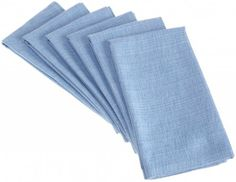 DII Coastal Ocean Blues Variegated Weave Napkin, Set of 6 $16.99 SHIPPED FREE~~~ALSO FREE LOCAL DELIVERY NOW AVAILABLE WITHIN 10 MILES OF SANTA MONICA, CALIFORNIA ZIP CODE 90404~~~