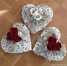 1 million+ Stunning Free Images to Use Anywhere Valentine Wreath, Valentine Day Crafts, Holiday Crafts, Deco Floral, Arte Floral, Heart Decorations, Valentines Day Decorations, Hobbies And Crafts, Diy And Crafts