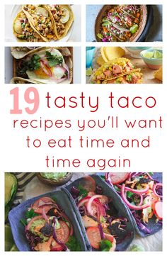 The beauty of a taco is that you can stuff it with whatever you please, from veggie concoctions of sweet potato, beetroot and lentil, to meaty mixes of marinated steak, beer-battered fish and spicy chicken.   So, what are you waiting for? Grab your tortilla and start filling it with one of these amazing taco creations...
