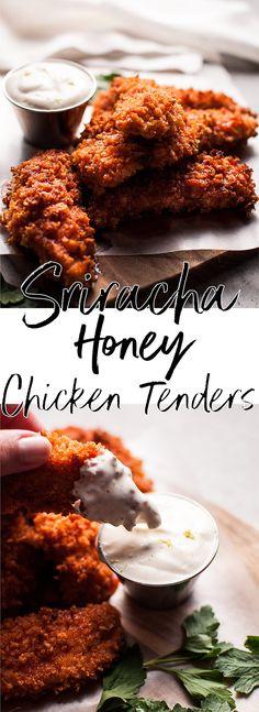 Best of Home and Garden: Sriracha Honey Chicken Tenders • Salt & Lavender