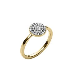 Michael Kors ring, embellished with a cluster of pavé stones for a sleek sparkle