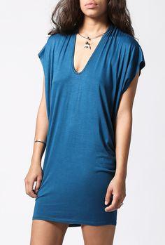 Azalea: Drape Side Tunic Dress | azaleasf.com