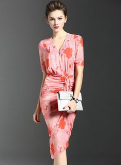 Pinkes kleid bleichen