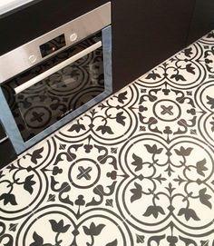 Azulejo hidráulico en la cocina | Azulejos Peña