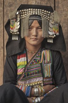 Akha Tribeswoman - stunning shots taken in northern Laos, where photographer Tim Draper spent time with the Akha people.