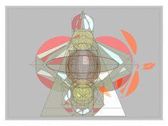 Geometric Composition 080416 B by Senecal