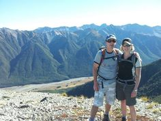 A beautiful day with my husband in the magical mountains of the Southern Alps.